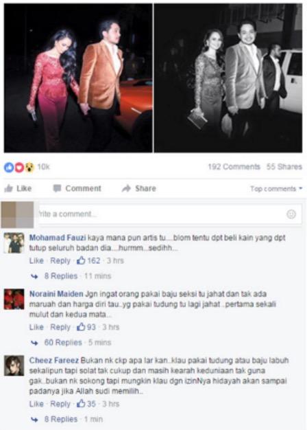 Izara Aishah Dikritik Gara-Gara Baju Jarang