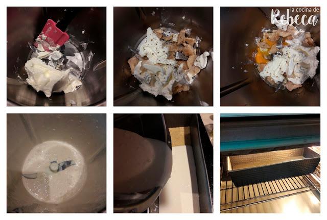 Receta de tarta (salada) de queso, uvas y nueces: el relleno