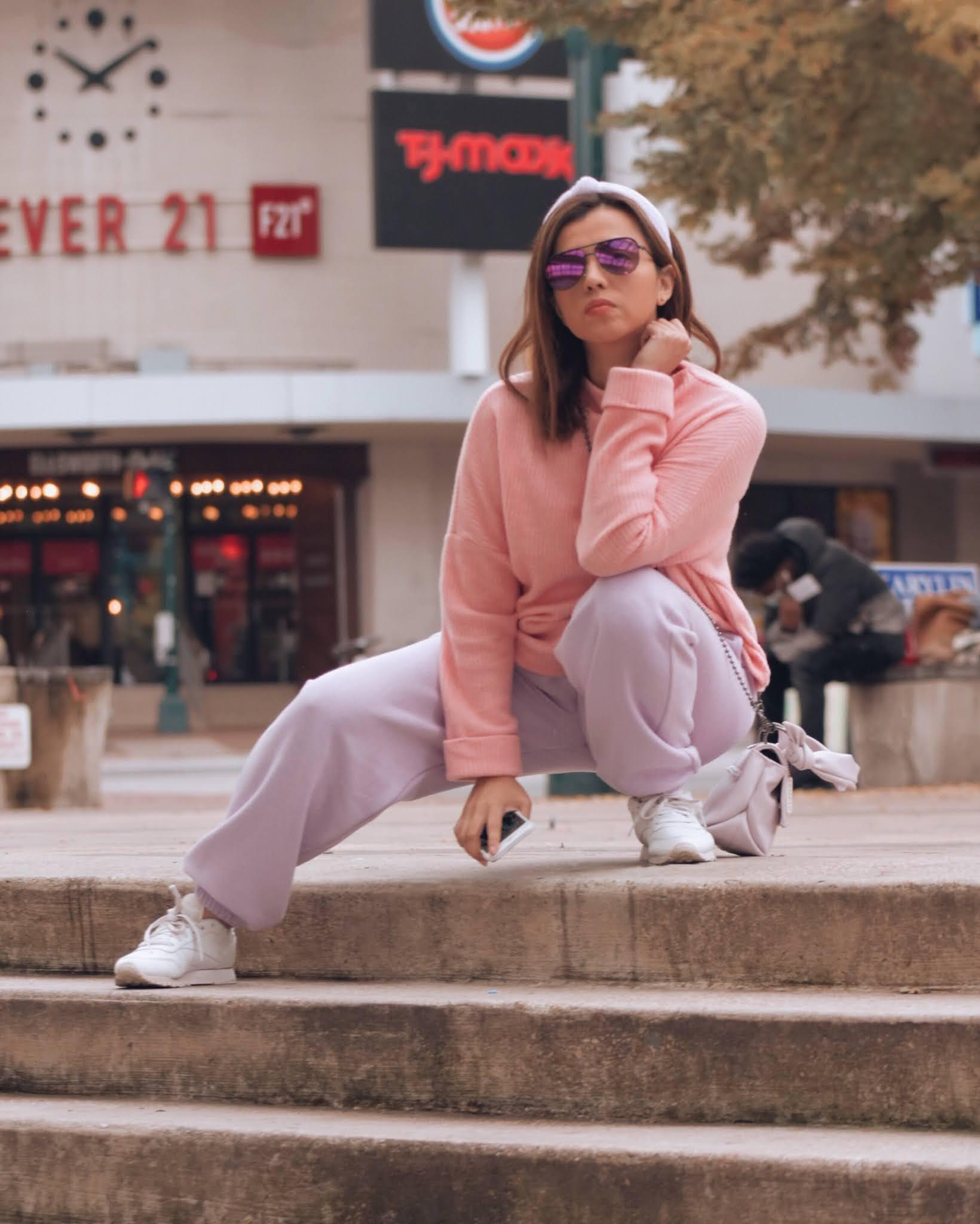 Combinando El Color Lila Con El Color Rosa-mariestilo-luxegal-femme luxe-