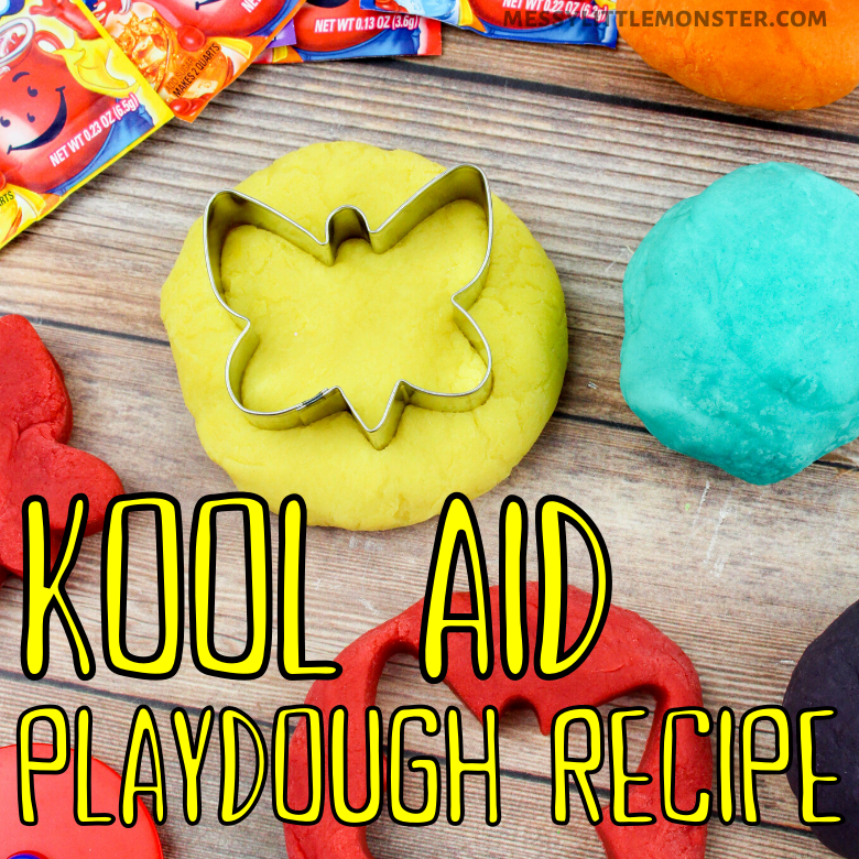 Kool Aid Playdough Recipe