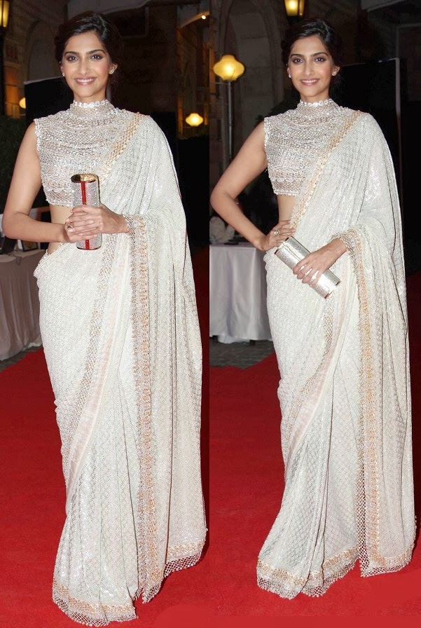 14 Celebrities Who Rocked In Sarees 2014
