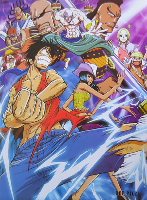 one piece saga skypiea