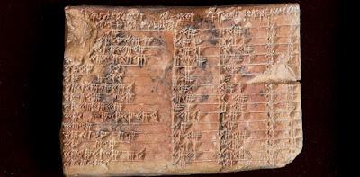 Una tauleta de 3700 anys revela que els babilonis van descobrir la trigonometria
