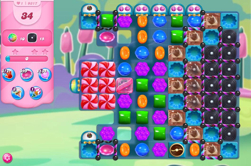 Candy Crush Saga level 9317