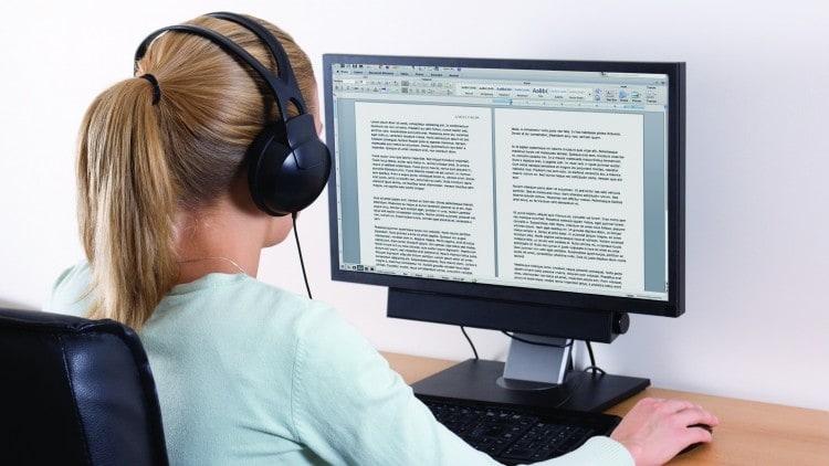 How To Pass The Online Transcription Test? | REV, Transcribe