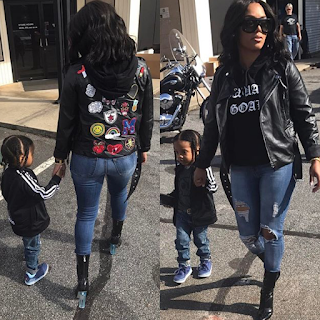 Rasheeda And Kirk Baby Karter
