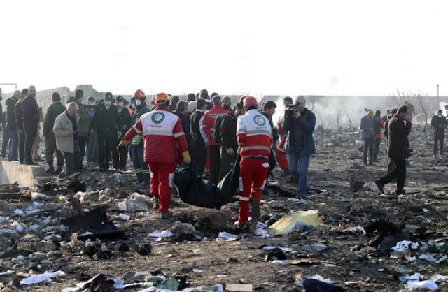 """Назвали основні версії авіакатастрофи в Ірані. Серед них і ракета """"Тор"""""""