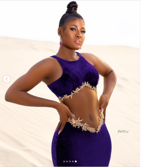 BBNaija Star Alex celebrates 25th birthday with beautiful pictures