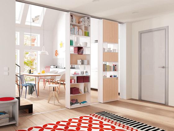 Interior relooking 5 idee per dividere gli spazi senza for Pareti divisorie