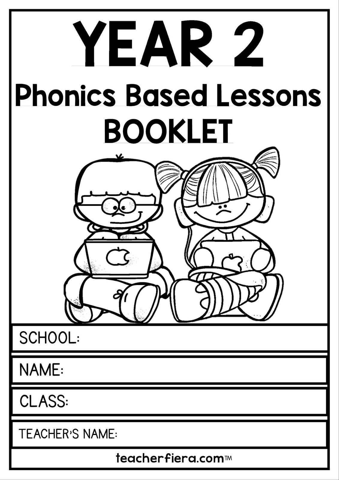Teacherfiera Year 2 Phonics Based Lessons Booklet