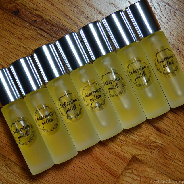 cuticle oil bottles