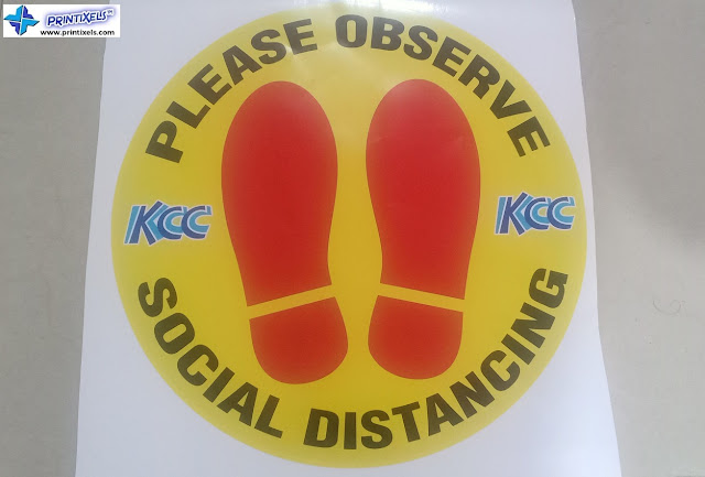 Social Distancing Floor Stickers Philippines