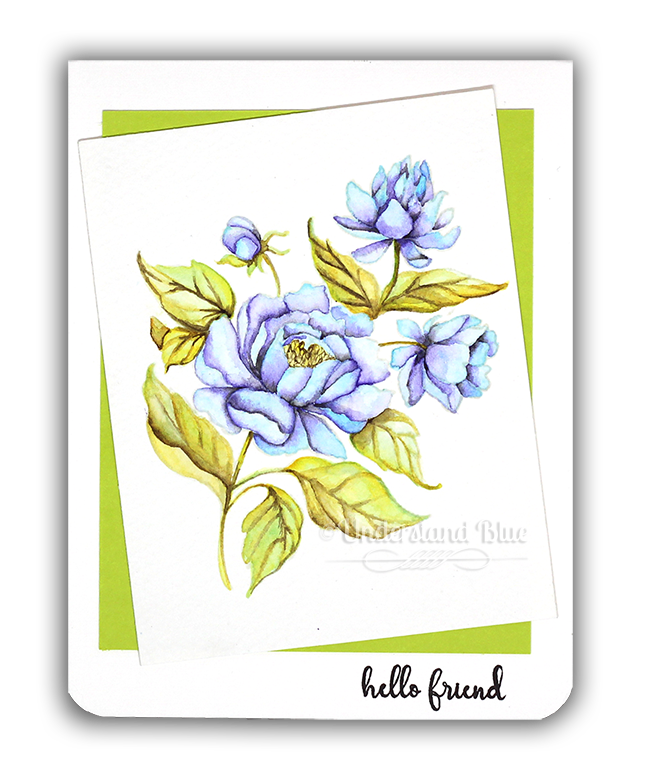 Gina K + Arteza Pencils Card by Understand Blue