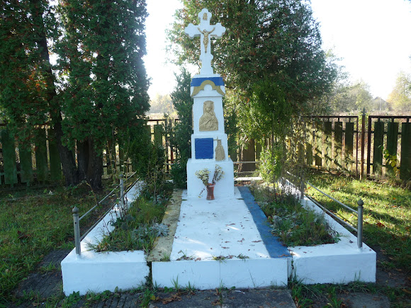 Задеревач, Украина. Памятник погибшим героям