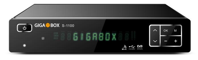Colocar CS 1 Gigabox s1100 v144   Atualização Julho comprar cs
