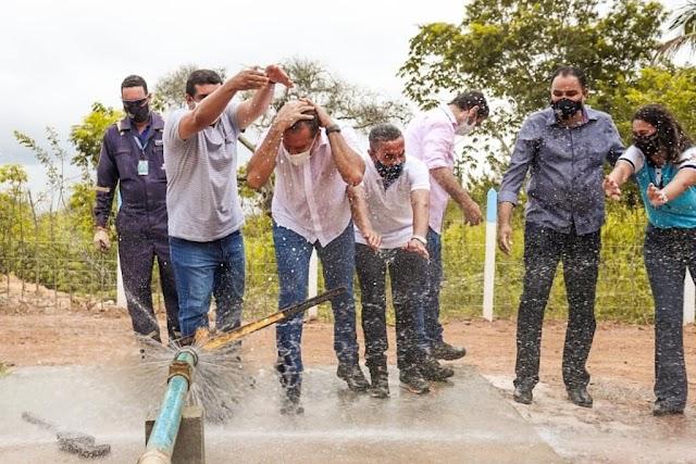 Prefeitura de Alagoinhas entrega novo sistema de abastecimento de água na Sucupira