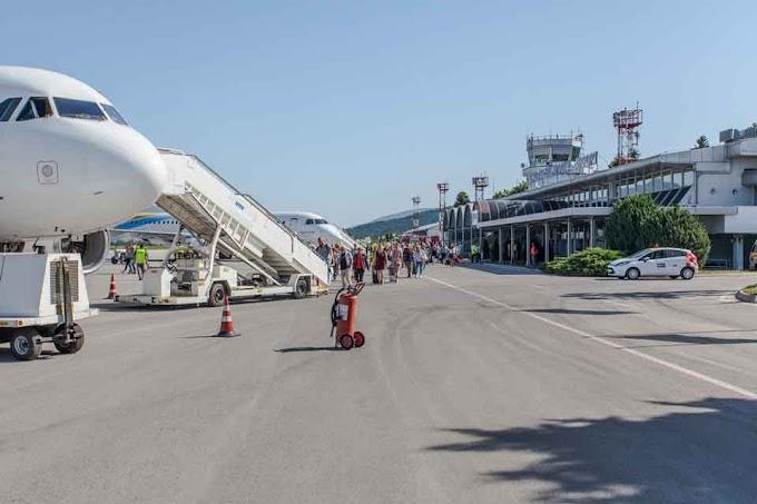 Flughafen in Ohrid mit neuem Passagier-Rekord