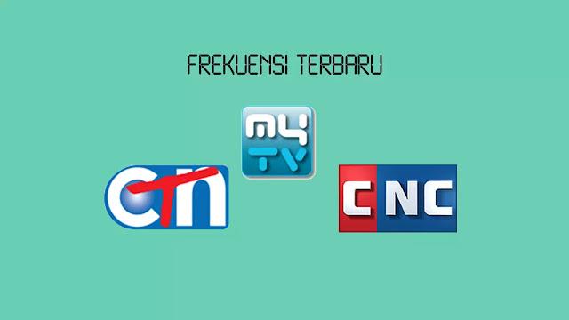 Frekuensi CTN, My TV dan CNC Terupdate