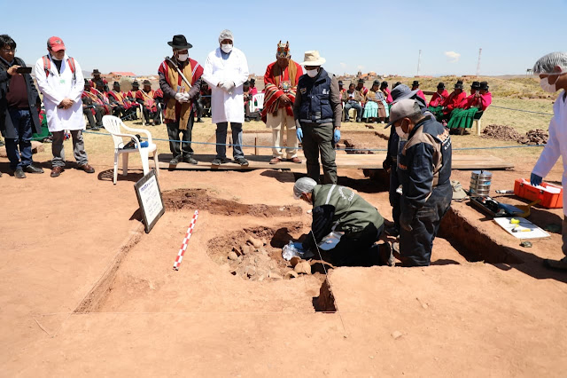 1,400-year-old ritual vessels discovered in Bolivia's Tiwanaku ruins