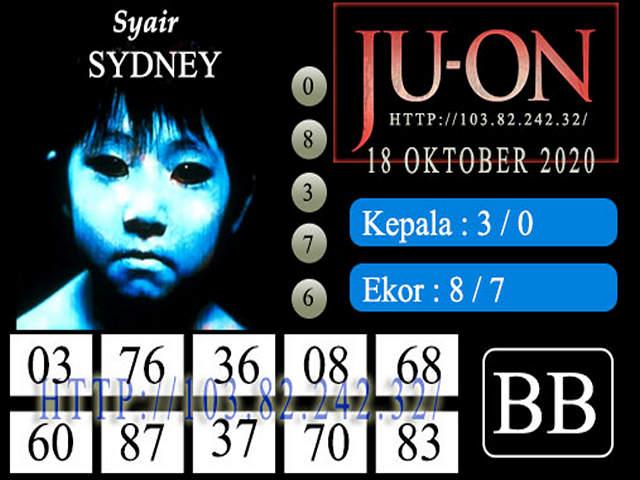 Kode syair Sydney Minggu 18 Oktober 2020 151