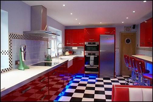 Decorating theme bedrooms maries manor 50s bedroom for 50 s style kitchen designs