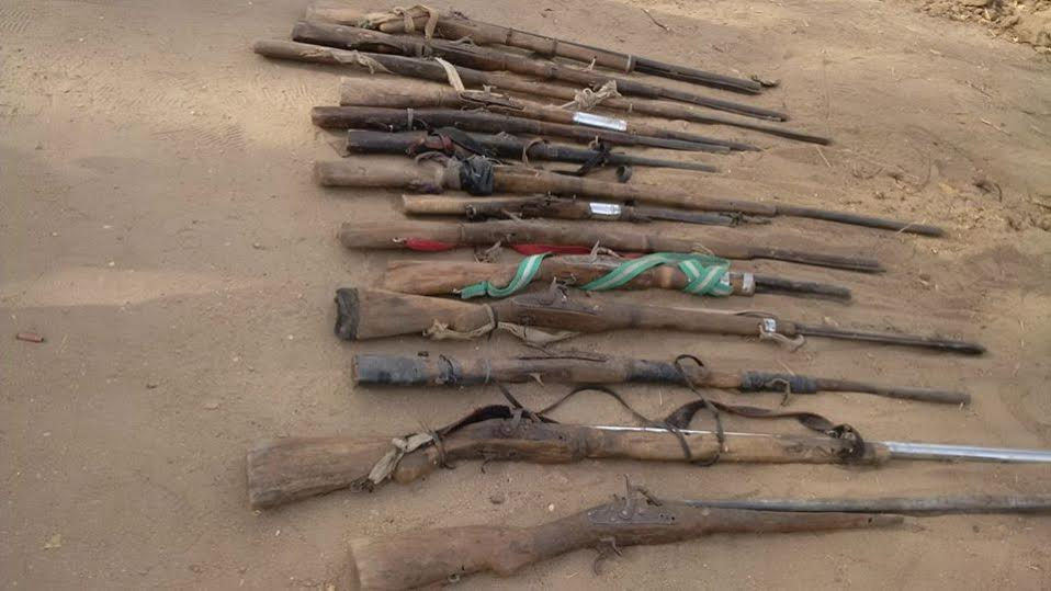 1 Photos: Pit where Boko Haram dumps bodies of their victims found by Troops