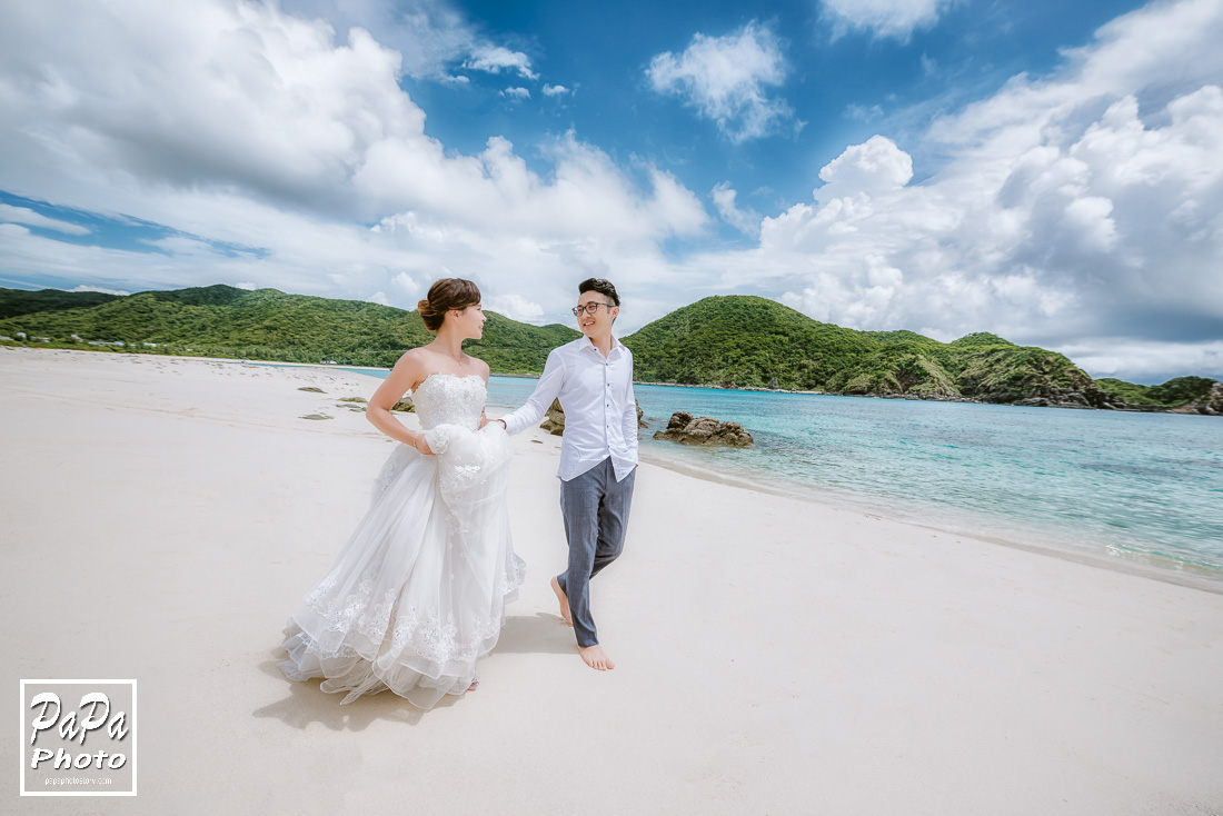 PAPA-PHOTO婚禮影像 沖繩婚紗 自助婚紗 桃園婚紗推薦