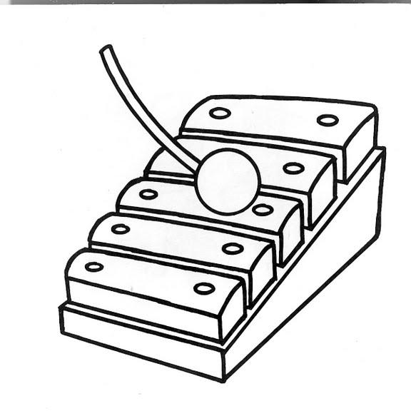 Dibujos Infantiles Dibujo Infantil Xilófono
