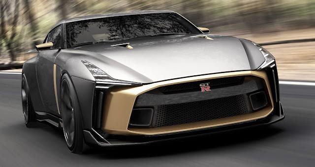 日産「GT-R50 by Italdesign」 日産GT-R50 by イタルデザイン