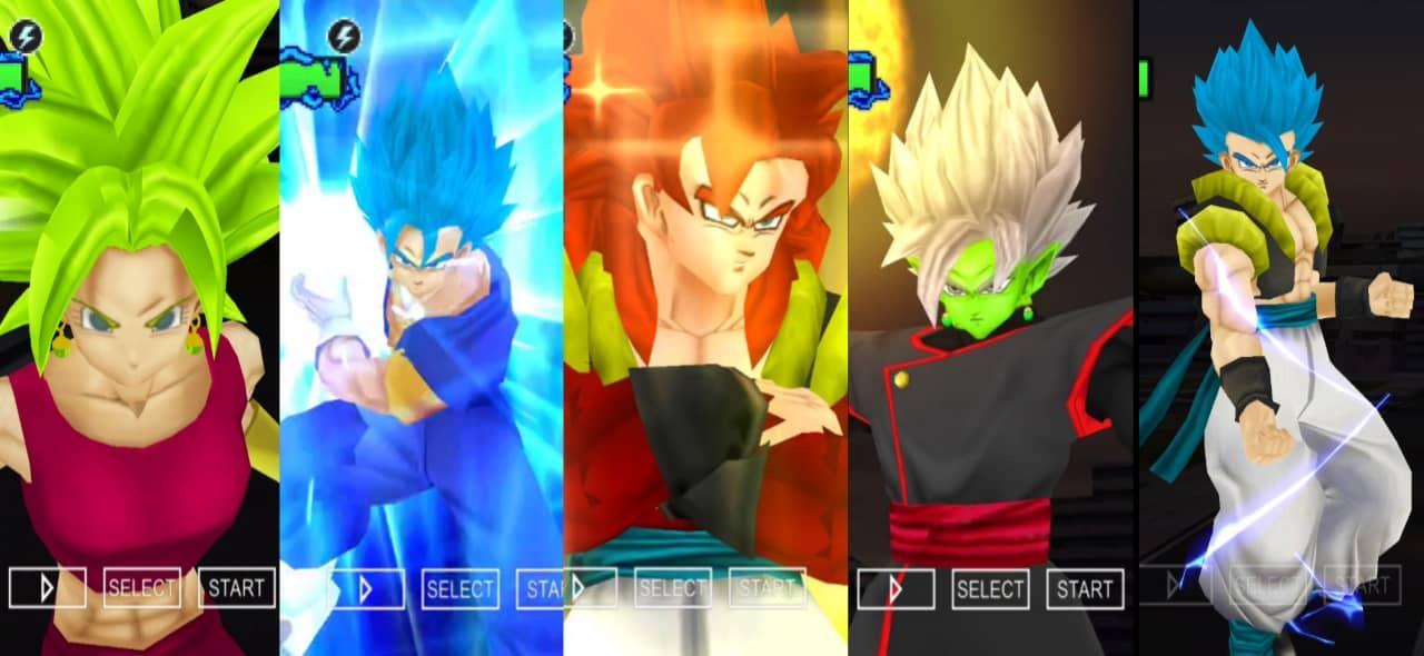 Dragon Ball Super all Fusions