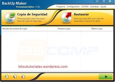 BackUp Maker Pro v7.102 [Full] [MEGA] [UL]