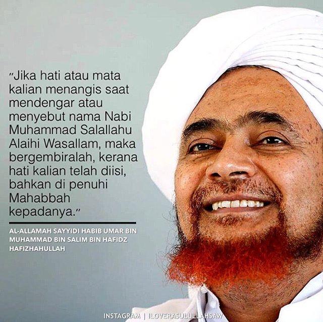 Kata Mutiara Habib Umar Bin Hafidz Tentang Cinta Quotemutiara