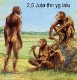 makhluk pertama bumi - manusia purba