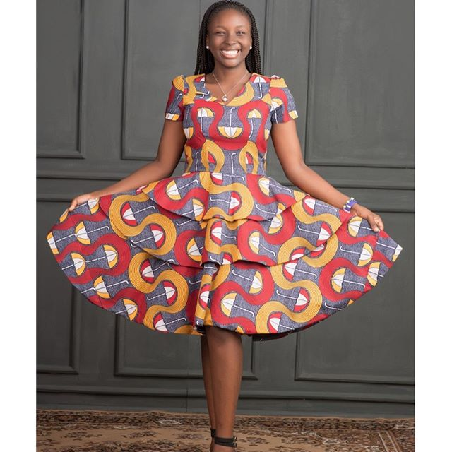 Latest Ankara Fashion Gown Styles 2019: For Ladies