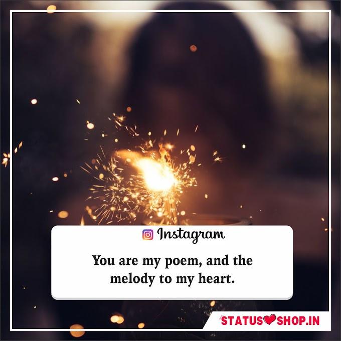 Instagram Quotes - Best Unique Short Inspirational Instagram Quotes 2021 | Status Shop