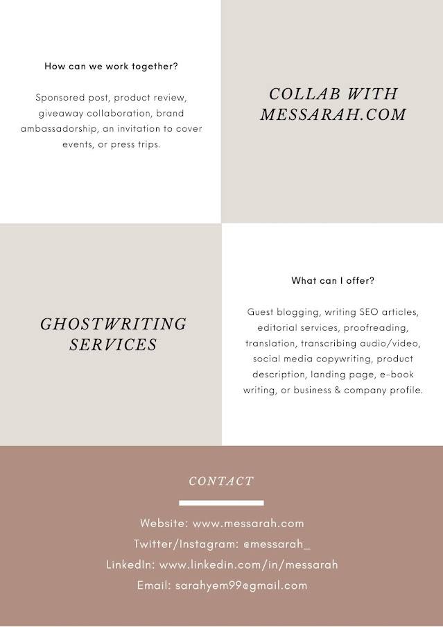 Hi! I'm Sarah & I help individuals and businesses to craft their messages to reach better target audience. Click here for freelance writer services!