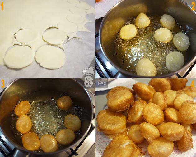 Cómo hacer buñuelos rellenos de forma fácil con hojaldre
