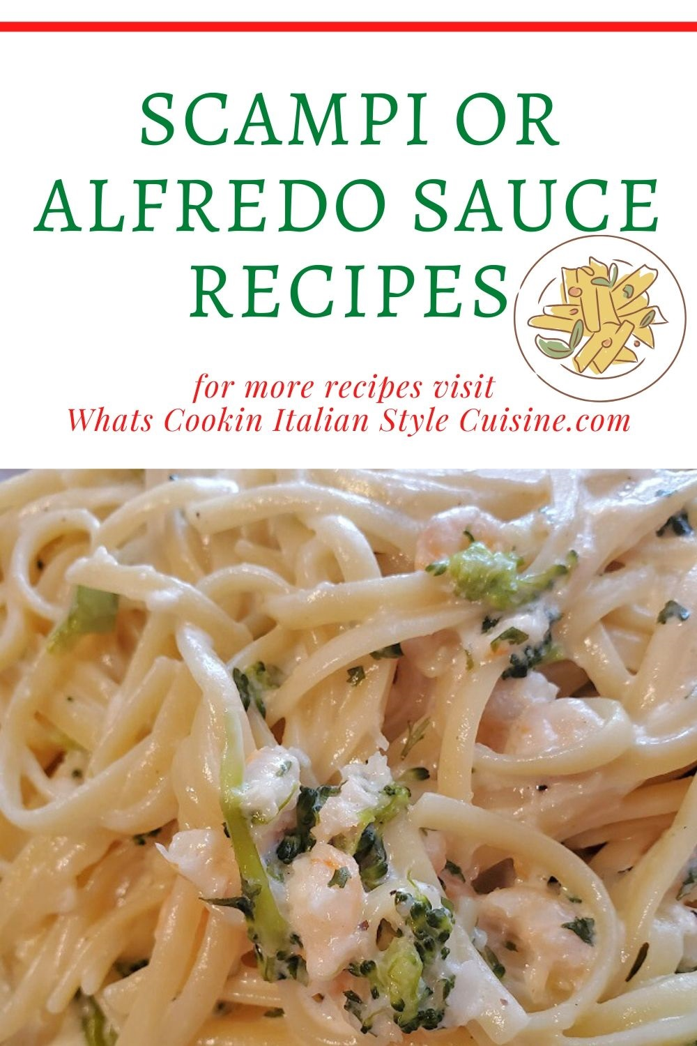 this is a pin for later how to make scamp sauce and alfredo sauce
