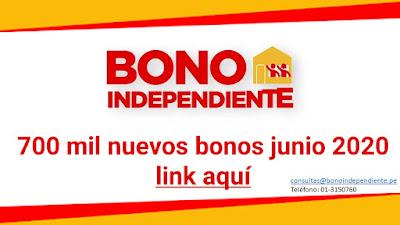 Verifica si te toca el BONO INDEPENDIENTE hay 700,000 nuevos hogares