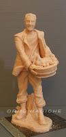 pastori presepe realizzati a mano su commissione statuina nonno da colorare orme magiche