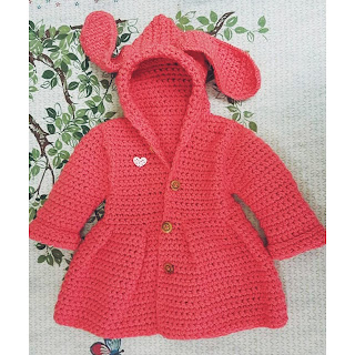 Jaket -snigle crochet