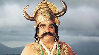 actor nalin dave in 'Ramayana' as 'kumbhakaran'