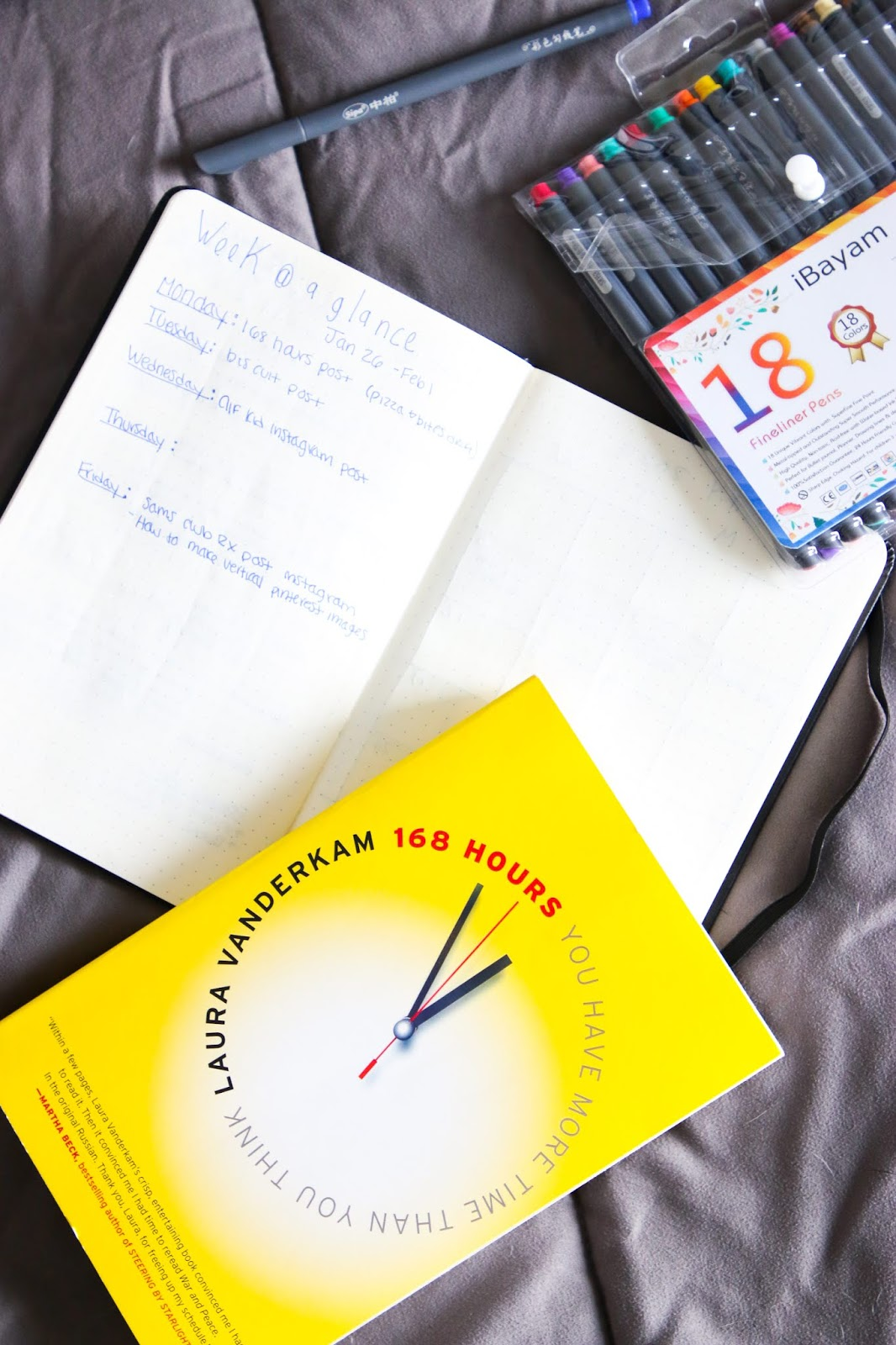 168 Hours Book Review
