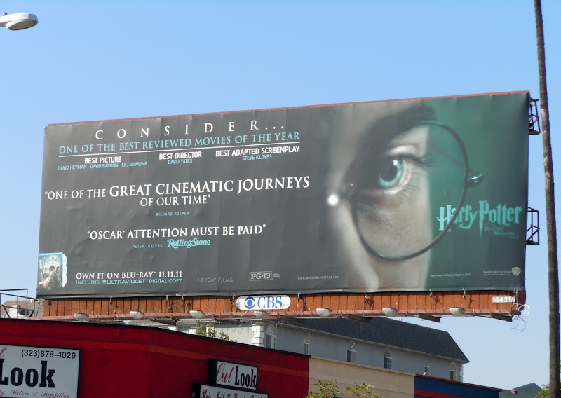 Harry Potter spectacles billboard