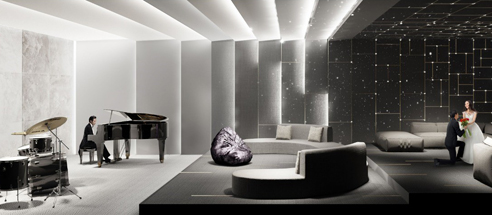 Parc Clematis - Music Room