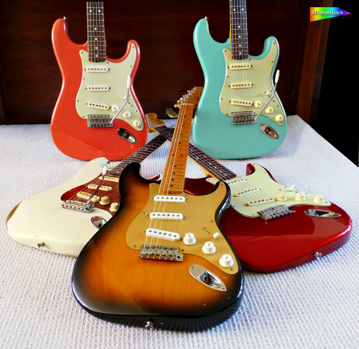 Vintage Reissue Stratocasters
