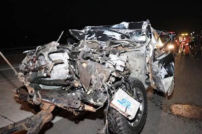 Mobil Dinas Kecelakaan, Kapolres Tulungagung Luka Berat, Istri dan Ajudan Meninggal