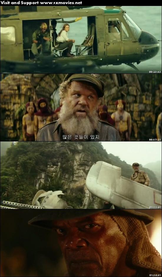Kong Skull Island 2017 Dual Audio 720p HC HDRip