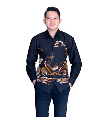 Kemeja Batik Pria Solo Lengan Panjang KBP 02