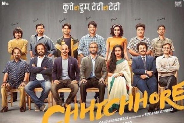 Chhichhore {2019} Full Movie [HD Pre-DVD Print] Download | 480p (400MB) | 720p (1.2GB)